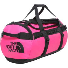 THE NORTH FACE BASE CAMP DUFFEL M MR PINK/TNF BLACK 20