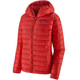 PATAGONIA W'S DOWN SWEATER HOODY CATALAN CORAL 21