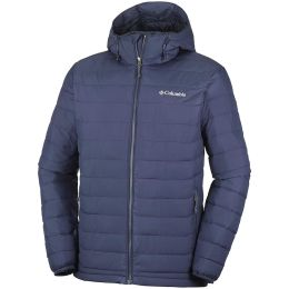 COLUMBIA POWDER LITE HOODED JACKET COLLEGIATE NAVY 21