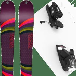 Pack ski alpin K2 K2 MISSCONDUCT 19 + LOOK NX 12 GW B100 BLACK 21 - Ekosport
