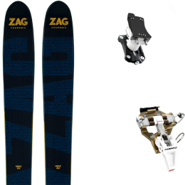 ZAG UBAC 102 21 + DYNAFIT SPEED TURN 2.0 BRONZE/BLACK 21