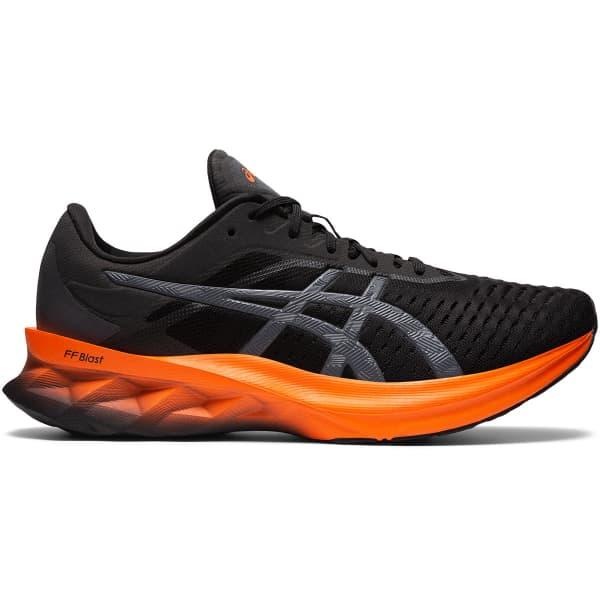 ASICS Chaussure running Novablast Black/marigold Orange Homme Noir/Orange taille 8.5