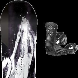 CAPITA MERCURY 21 + SALOMON HIGHLANDER BLACK 21
