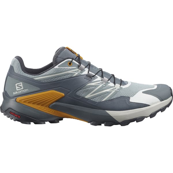 SALOMON Chaussure trail Wings Sky Slate/ebony/butterscotch Homme Gris/Bleu taille 6.5