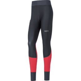 GORE X7 W PARTIAL GTX INF TIGHTS BLACK/HIBISCUS PINK 21