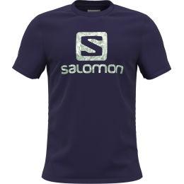 SALOMON OUTLIFE LOGO SS TEE M ASTRAL AU 21
