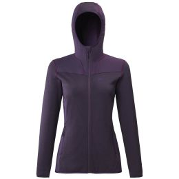 MILLET SENECA TECNO HOODIE W BLACK BERRY/BLACK BERRY 20
