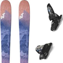 NORDICA ASTRAL 84 BLUE/DARK 20 + MARKER GRIFFON 13 ID BLACK 20