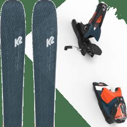 Pack ski alpin K2 K2 MINDBENDER 98 TI ALLIANCE 20 + LOOK SPX 12 GW B120 PETROL/ORANGE 20 - Ekosport