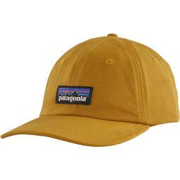 PATAGONIA P-6 LABEL TRAD CAP BUCKWHEAT GOLD 21