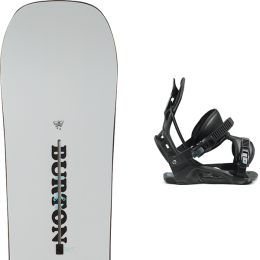 BURTON KILROY TWIN 21 + FLOW NEXUS FUSION BLACK 21