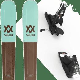 Pack ski alpin VOLKL VOLKL SECRET 102 20 + LOOK SPX 12 GW B120 BLACK 20 - Ekosport