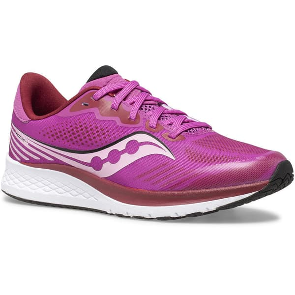 SAUCONY Chaussure running Ride 14 Jr Pink Enfant Violet taille 2.5