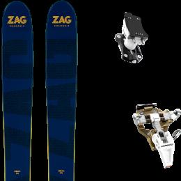 ZAG UBAC 95 21 + DYNAFIT SPEED TURN 2.0 BRONZE/BLACK 21