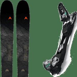 Ski randonnée DYNASTAR DYNASTAR M-VERTICAL 88 21 + MARKER F10 TOUR BLACK/WHITE 22 - Ekosport