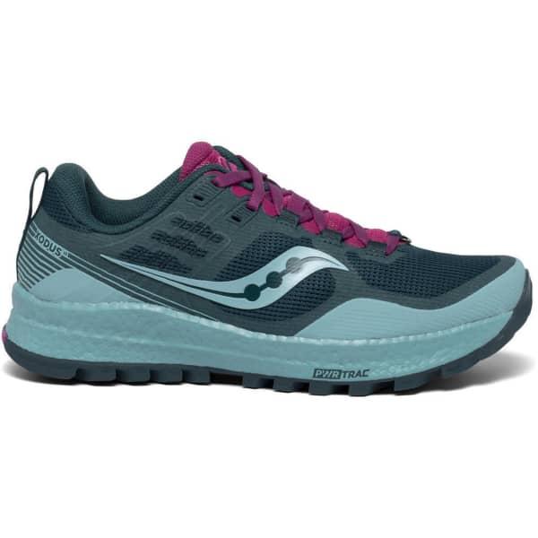 SAUCONY Chaussure trail Xodus 10 W Marine/fuchsia Femme Bleu taille 8.5