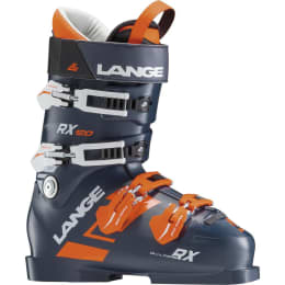 Chaussure ski alpin LANGE LANGE RX 120 DARK BLUE ORANGE 19 - Ekosport