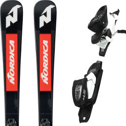 NORDICA DOBERMAN COMBI PRO S FDT + JR 4.5FDT BLK/RED 21