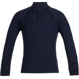 ICEBREAKER 260 TECH LS HALF ZIP MIDNIGHT NAVY 20