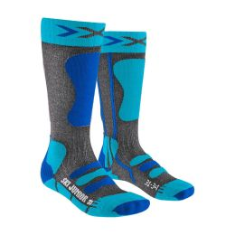 X-SOCKS SKI JUNIOR 4.0 BLEU 21