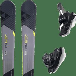 Pack ski alpin FISCHER FISCHER PRO MTN 95 TI 17 + MARKER 11.0 TCX BLACK/ANTHRACITE 20 - Ekosport
