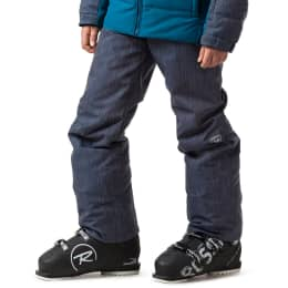 Vêtement de ski ROSSIGNOL ROSSIGNOL BOY SKI DENIM PANT DENIM 22 - Ekosport