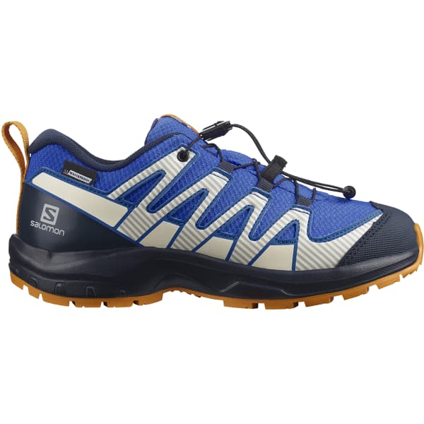 SALOMON Chaussure trail Xa Pro V8 Cwsp Jr Palace Blue/navy Blazer/buttersco Enfant Bleu/Orange taille 33