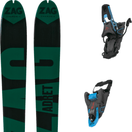 Boutique ZAG ZAG ADRET 81 20 + SALOMON S/LAB SHIFT MNC 13 N BLACK/BLUE SH90 21 - Ekosport