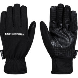 DC SHOES DRUDGE GLOVES BLACK 20