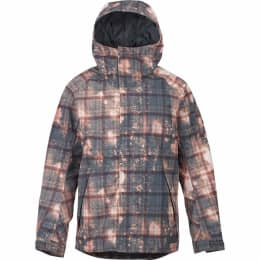 Vêtement hiver BURTON BURTON MB HILLTOP JK SPRAY PLAID 18 - Ekosport