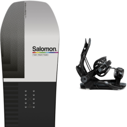 SALOMON HUCK KNIFE 21 + FLOW FENIX FUSION  BLACK 21