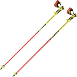 LEKI WORLDCUP RACING COMP JR BLACK RED YELLOW 21