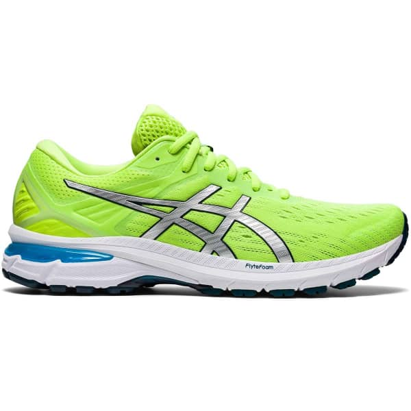 ASICS Chaussure running Gt-2000 9 Green/pure Silver Homme Jaune taille 7