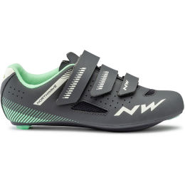 NORTHWAVE CORE WMN ANTHRA/LIGHT GREEN 21