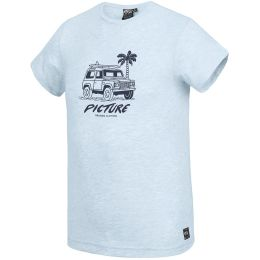 PICTURE ANGLET TEE PALE BLUE MELANGE 21