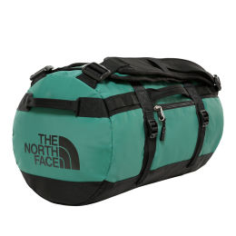THE NORTH FACE BASE CAMP DUFFEL XS EVERGREEN/TNF BLACK 21