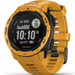 BU Fond / Rando GARMIN GARMIN INSTINCT GPS WATCH SUNBURST 20 - Ekosport