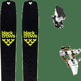 Ski randonnée BLACK CROWS BLACK CROWS SOLIS 22 + DYNAFIT SPEED TURN 2.0 BRONZE/BLACK 21 - Ekosport