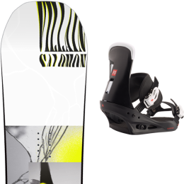 SALOMON THE VILLAIN 20 + BURTON FREESTYLE BLACK 21