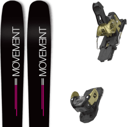 Boutique MOVEMENT MOVEMENT GO 100 WOMEN 19 + SALOMON WARDEN MNC 13 N GOLD 20 - Ekosport