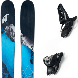 NORDICA ENFORCER 115 FREE 21 + MARKER SQUIRE 11 ID BLACK 21