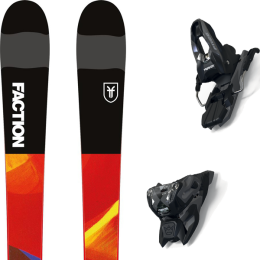 FACTION PRODIGY 0.5 JR 19 + MARKER FREE TEN ID BLACK/ANTHRACITE (+SCREW KIT) 21