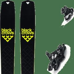 BU Fond / Rando BLACK CROWS BLACK CROWS SOLIS 22 + MARKER ALPINIST 12 BLACK/TITANIUM 22 - Ekosport