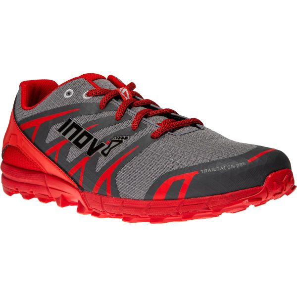 INOV-8 Chaussure trail Trailtalon 235 Grey/red Homme Gris/Rouge taille 7