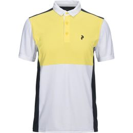 PEAK PERFORMANCE RACE TOUR POLO TRUE YELLOW 18