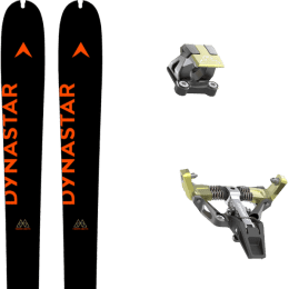Ski randonnée DYNASTAR DYNASTAR M-PIERRA MENTA OPEN 21 + DYNAFIT LOW TECH RACE 115 MANU BLACK/YELLOW 21 - Ekosport