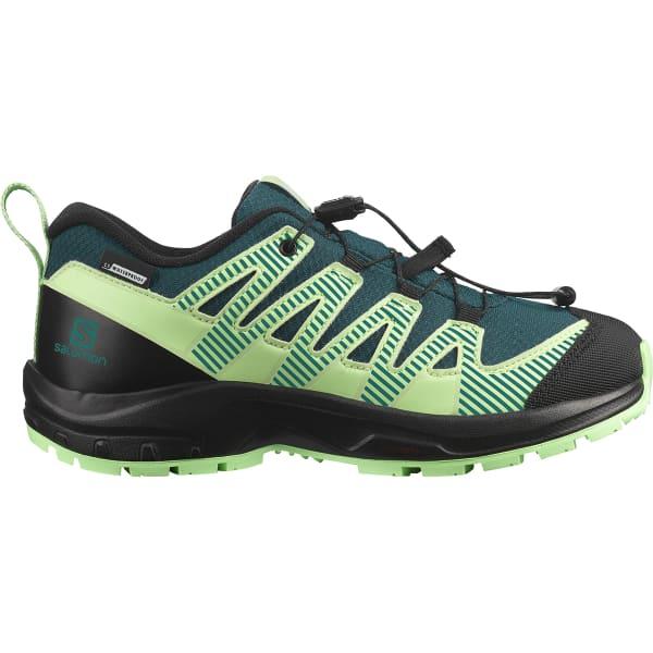 SALOMON Chaussure trail Xa Pro V8 Cwsp Jr Deep Teal/black/pgreen Enfant Vert taille 33