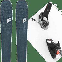 Boutique K2 K2 MINDBENDER 98 TI ALLIANCE 20 + LOOK PIVOT 12 GW B115 BLACK/ICON 22 - Ekosport