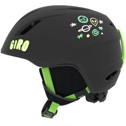 GIRO LAUNCH JR MATTE BLACK BRIGHT GREEN ALIEN 19