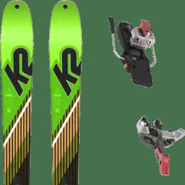 Ski randonnée K2 K2 WAYBACK 88 SMU 22 + ATK CREST 10 - 91MM 22 - Ekosport
